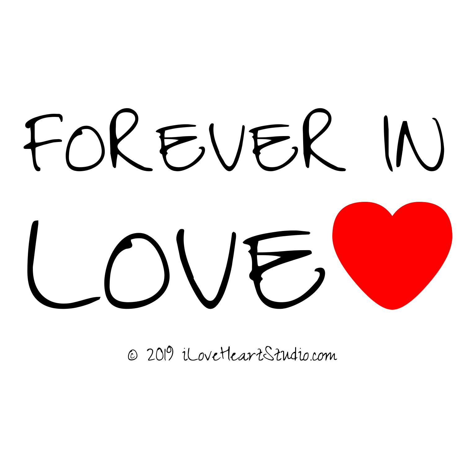 39 forever in love love heart 39 design on t shirt poster mug and many other products i love. Black Bedroom Furniture Sets. Home Design Ideas