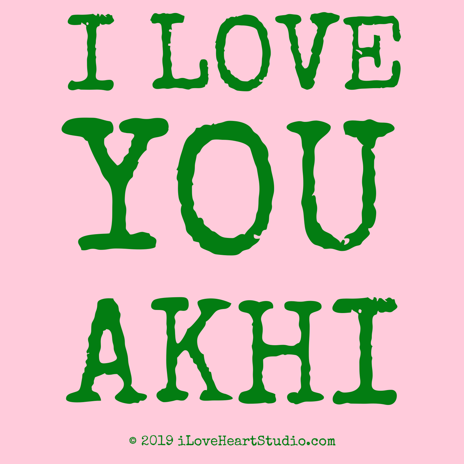 i love you akhi design on t shirt poster mug and many other