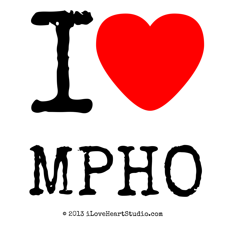 I Love Heart Mpho Design On T Shirt Poster Mug And