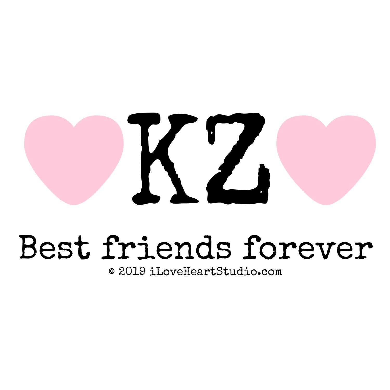 Love Heart Kz Best Friends Forever