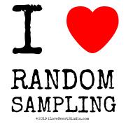 I [Love Heart]  Random Sampling