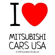 I [Love Heart] Mitsubishi Cars Usa