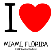 I [Love Heart] Miami, Florida