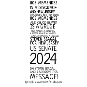 Bob Memendez Is A Disgrace And New Jersey Deserves Better Than Bob Memendez And Chuck Shumer Is A Gruge And America Deserves A Better Senate Minority Leader! Time For A Change! Steven Seagal For New Jersey Us Senate 2024 I