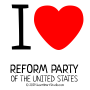 I [Love Heart] Reform Party Of The United States