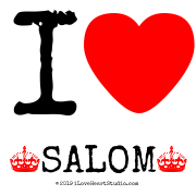 I [Love Heart]  [Crown] Salom [Crown]