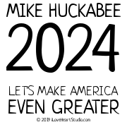 Mike Huckabee 2024 Let
