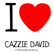 I [Love Heart] Cazzie David