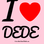 I [Love Heart] Dede
