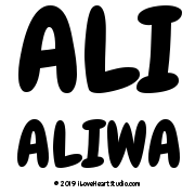 Ali Aliwa
