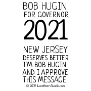 Bob Hugin For Governor 2021 New Jersey Deserves Better I