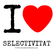 I [Love Heart] Selectivitat