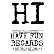 """Hi Only For You 11.11 Extra Members Coupon Http://item.pictures/vipcoupons Have Fun Regards """"sent From My Iphone"""""""