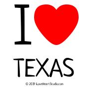 I [Love Heart] Texas