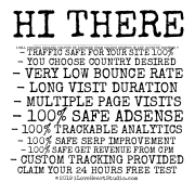 Hi There  I Just Checked Out Your Website Iloveheartstudio.com And Wanted To Find Out If You Need Help Getting Quality Organic Traffic That Buy From You?  I Will Provide Organic Traffic By Keyword From Search Engines In Any Country Desired !! - Traffic Safe For Your Site 100%  - You Choose Country Desired - Very Low Bounce Rate - Long Visit Duration - Multiple Page Visits - 100% Safe Adsense - 100% Trackable Analytics - 100% Safe Serp Improvement - 100% Safe Get Revenue From Cpm - Custom Tracking Provided  Claim Your 24 Hours Free Test == Http://bit.ly/quality_organic_traffic  Do Not Forget To Read Review To Convince You, Is Already Being Tested By Many People Who Have Trusted It !!  Regards, Axyyko