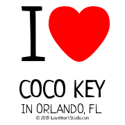 I [Love Heart] Coco Key In Orlando, Fl