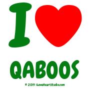 I [Love Heart] Qaboos