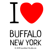 I [Love Heart] Buffalo New York