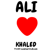 Ali [Love Heart] Khaled