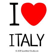I [Love Heart] Italy