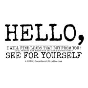 Hello,  My Name Is Kurtis De Little, I Want To Know If: You Need Leads, Sales, Conversions, Traffic For Your Site Iloveheartstudio.com ?  I Will Find Leads That Buy From You !  I Will Promote Your Business In Any Country To Any Niche ! See For Yourself== Http://bit.ly/promote_very_efficiently  Do Not Forget To Read Review To Convince You, Is Already Being Tested By Many People Who Have Trusted It !!  Kind Regards, Kurtis De Little   Unsubscribe== Http://bit.ly/unsubscribe_sales