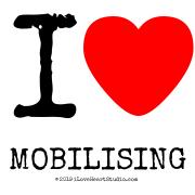 I [Love Heart] Mobilising