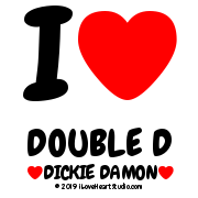 I [Love Heart] Double D [Love Heart] Dickie Damon [Love Heart]