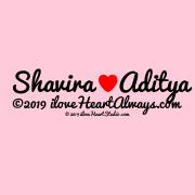 Shavira [Love Heart] Aditya ©2019 Iloveheartalways.com