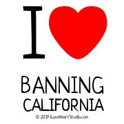 I [Love Heart] Banning California