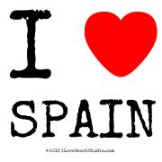 I [Love Heart] Spain
