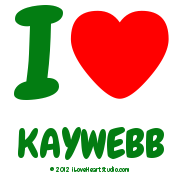 I [Love Heart] Kaywebb