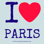 I [Love Heart] Paris