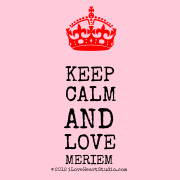 [Crown] Keep Calm And Love  Meriem