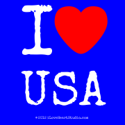 I [Love Heart] Usa