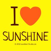 I [Love Heart]  Sunshine