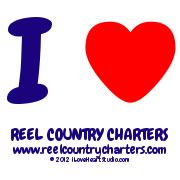 I [Love Heart] Reel Country Charters Www.reelcountrycharters.com