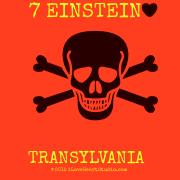 7 Einstein [Love Heart]  [Skull Crossed Bones] Transylvania