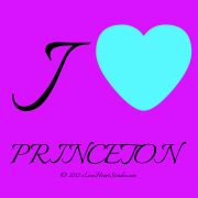 I   [Love Heart]  Princeton & Roc Royal