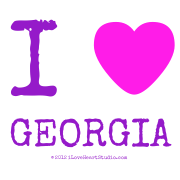 I [Love Heart] Georgia