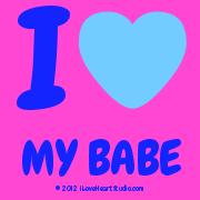 I [Love Heart] My Babe