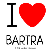 I  [Love Heart] Bartra