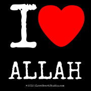 I [Love Heart] Allah