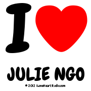 I  [Love Heart] Julie Ngo