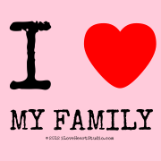 I [Love Heart]  My Family