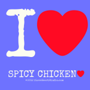 I [Love Heart]  spicy Chicken [Love Heart]