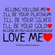 As Long You Love Me [Love Heart] I