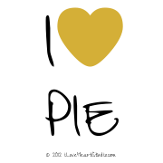 I [Love Heart] Pie