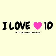I Love [Love Heart] 1d