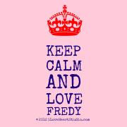 [Crown] Keep Calm And Love Fredy