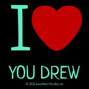 I [Love Heart] You Drew